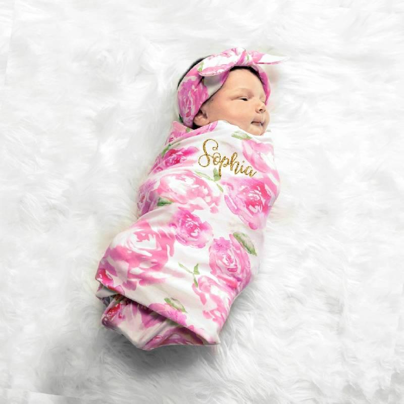 couverture personnalisée bebe