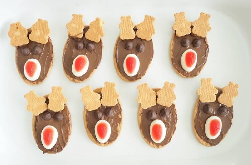 Biscuits de renne faciles à préparer