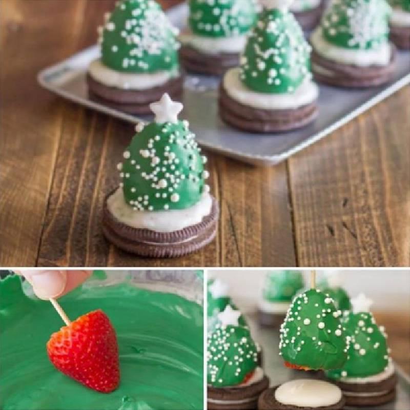 dessert sapin de Noël