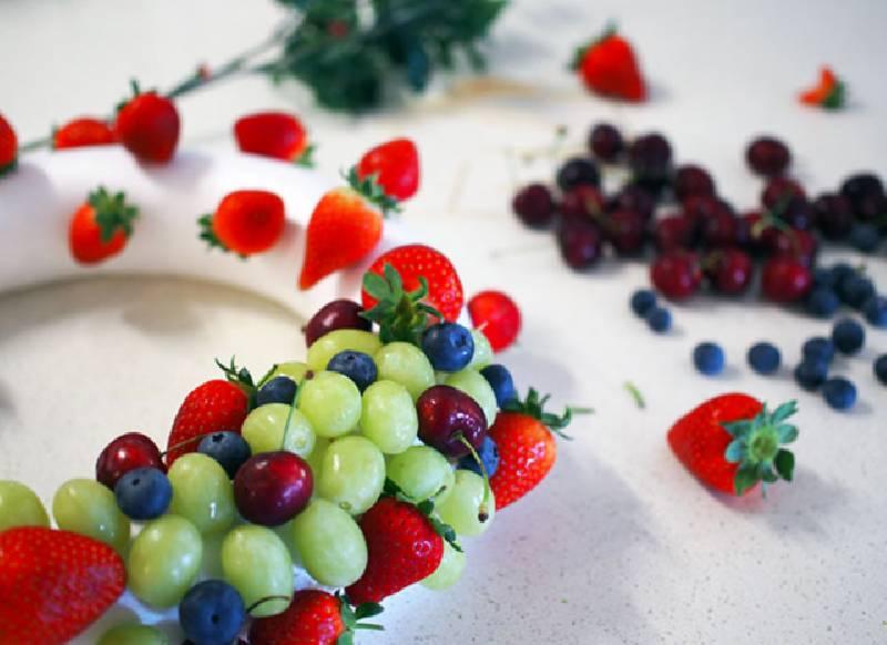 couronne de fruit