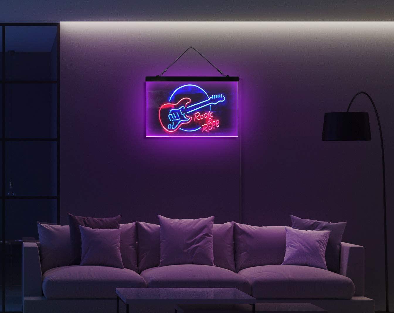 guitare neon