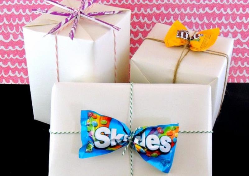 emballage cadeau gourmand