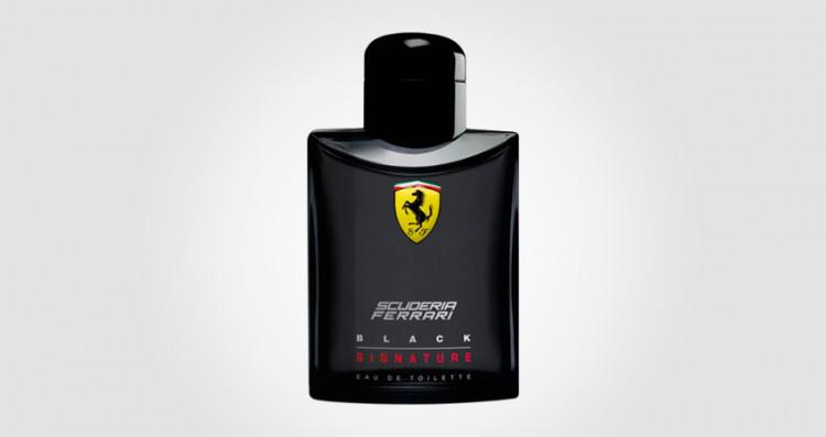 Ferrari black signature