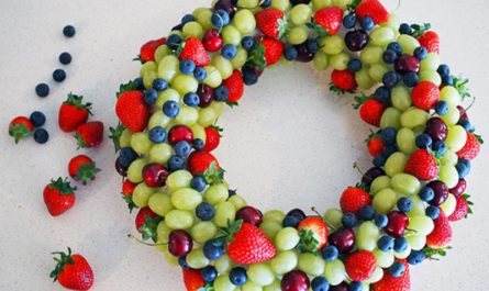 couronne fruits-noel
