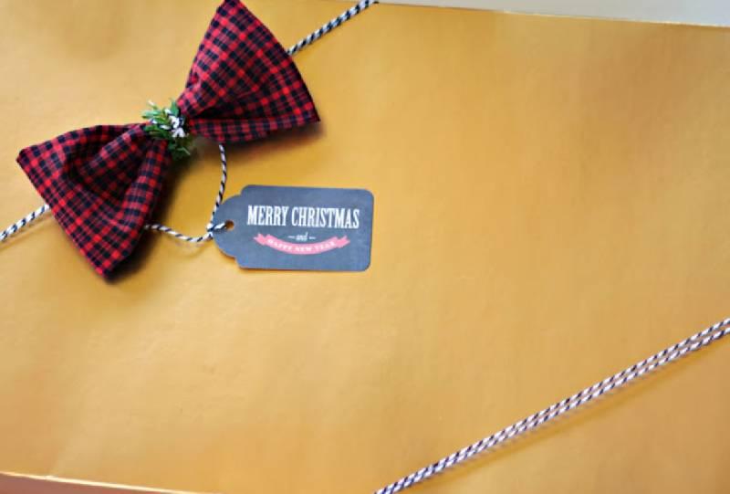 idées d'emballage des cadeaux de Noël