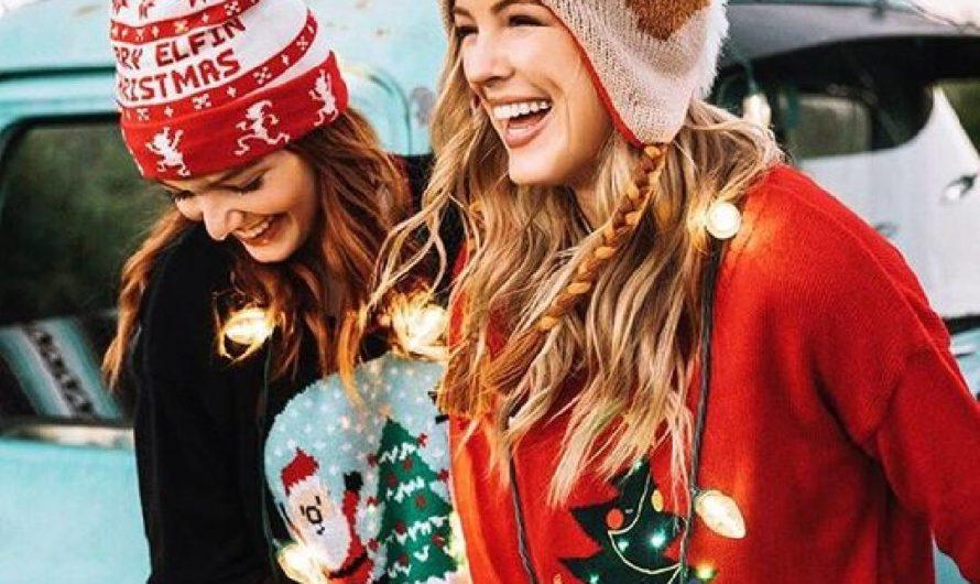 35 Idées de tenue femme pour Noël