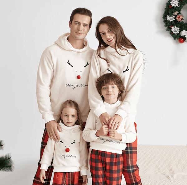pyjama Noël de la famille