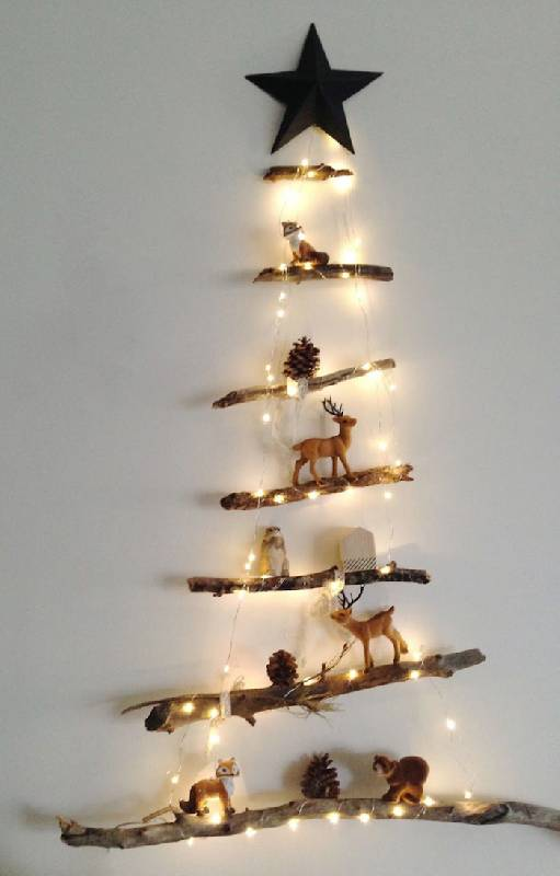 Arbre de Noël de style nordique