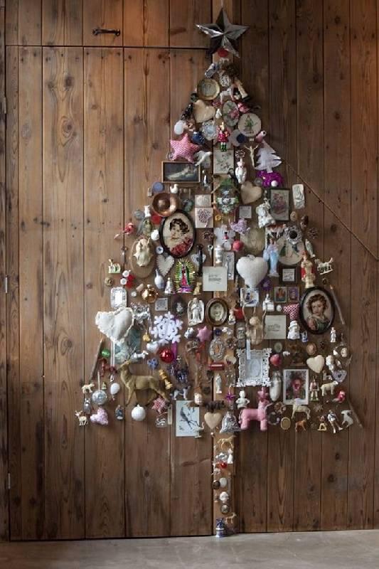 Vieux sapin de Noël